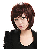 Capless Natural Short Red Wigs Women Wigs Costume Wigs Cosplay Wigs