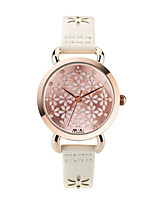 Women's Fashion Watch Japanese Quartz Water Resistant / Water Proof Leather Band White