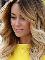 Ombre цвет бразильские виргинские волосы кружева парики тела волна кружева перед человеческие волосы парики виргинский парик волос с