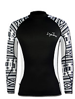 Men's 2mm Wetsuits Sports Terylene Diving Suit Long Sleeve Tops-Diving & Snorkeling Spring/Fall Solid