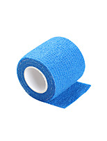 Disposable Tattoo Grip Non-slip Blue Cover Self-adhesive Elastic Bandage 5*450cm