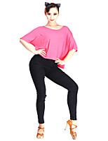 Latin Dance Bottoms Women's Performance Cotton/Nylon with a Hint of Stretch