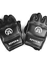 Boxing Gloves Boxing Bag Gloves for Boxing Mixed Martial Arts (MMA) Muay Thai Fingerless Gloves Protective Nylon PVC
