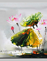 Hand Painted Flower Oil Painting On Canvas Modern Art Wall Picture For Home Decoration Ready To Hang