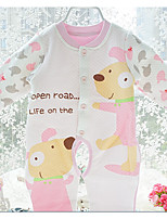 Baby Animal print One-Pieces,Cotton Winter Fall Long Sleeve