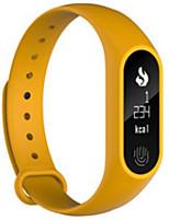 Pulsera SmartResistente al Agua Long Standby Calorías Quemadas Podómetros Itinerario de Ejercicios Deportes Monitor de Pulso Cardiaco
