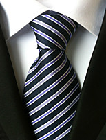 All Polyster Neck TieNeckwear Striped All Seasons W0030