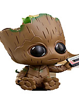Anime Action Figures Guardians of the galaxy groot Inspired by Cosplay Cosplay PVC 8 CM Model Toys Doll Toy 1pc