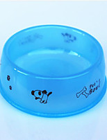 Cat Dog Bowls & Water Bottles Feeders Pet Bowls & Feeding Waterproof Portable Blue Orange