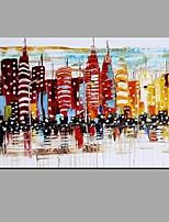 Handgemalte LandschaftAbstrakt Ländlich Ein Panel Leinwand Hang-Ölgemälde For Haus Dekoration