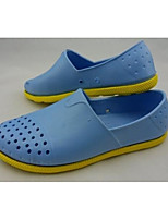 Men's Loafers & Slip-Ons Comfort Hole Shoes Rubber Spring Casual Comfort Hole Shoes Gray Navy Blue Light Blue Flat