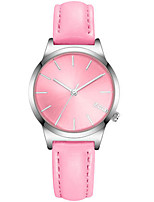 Women's Fashion Watch Quartz Water Resistant / Water Proof PU Band Blue Pink