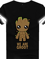 Costumes de Cosplay Sweatshirts Mangas Soldat/Guerrier Monstre Déguisements Thème Film/TV Cosplay de Film Tee-shirt Halloween Carnaval
