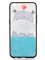 For OPPO R9s  R9s Plus Case Cover Pattern Back Cover Case Bird Hippo Cartoon Hard PC R9 R9 Plus