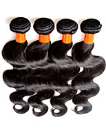 8a malaysian body wave virgin hair 4bundles 400g lot natural malaysian remy human hair extensions weft black color good quality full end