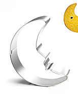 Moon Cookies Cutter Stainless Steel Biscuit Cake Mold Metal Kitchen Fondant Baking Tools