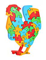 Jigsaw Puzzles DIY KIT Building Blocks DIY Toys Chicken Wooden