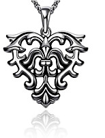 MPL Retro punk rock style Steel Pendant Necklace