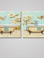 Отпечатки на холсте Натюрморт Modern Классика,2 панели Холст Квадратная Печать Искусство Декор стены For Украшение дома