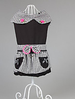 Dog Dress Dog Clothes Party Casual/Daily Plaid/Check