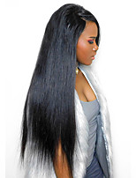 Brazilian Virgin Hair 180% Density 360 Lace Wig With Natural Hairline High Ponytail Virgin Remy Braizlian Hair 360 Wig