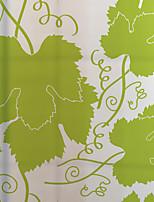 Деревья / листья Современный Стикер на окна,ПВХ/винил материал окно Украшение