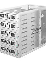 ORICO-3559RUS3 3.5 inch High Speed Usb3.0 Five Disk Hard Disk Cabinet Raid Silver
