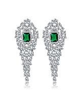 Women's Earrings Set Jewelry Unique Design Euramerican Fashion Crystal Zircon Alloy Jewelry Jewelry ForWedding Birthday Party/Evening