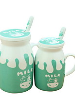 Casual/Daily Drinkware, 400 Ceramics Coffee Milk Novelty Drinkware