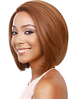 Fashion Blonde Color Straight BOBO Wigs For Afro European Synthetic Wig