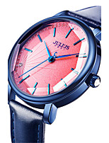 Women's Fashion Watch Japanese Quartz Water Resistant / Water Proof Leather Band Black White Blue Orange Brown Green Pink