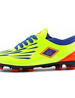 Мальчики Спортивная обувь Удобная обувь Полиуретан Весна Осень Для прогулок Voetbal На плоской подошве Черный Зеленый Тёмно-синийМенее