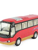 Vehículos de tracción trasera Juguetes creativos Autobús Metal
