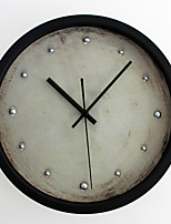 Traditional Retro Wall Clock,Round Novelty Indoor Clock