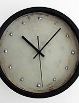 Traditionnel Rétro Horloge murale,Rond Nouveauté Intérieur Horloge