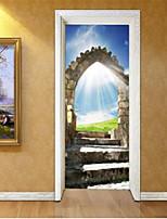 Loisir Stickers muraux Autocollants muraux 3D Autocollants muraux décoratifs,Vinyle Matériel Décoration d'intérieur Calque Mural