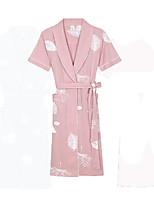 Bath TowelPattern High Quality 100% Cotton TowelWomen's Bathrobes