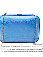 L.west Women Elegant High-grade Fashion Color Bright Evening Bag