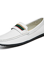 Men's Loafers & Slip-Ons Comfort Leather Nappa Leather Spring/Fall All Seasons Casual Office & Career Party & Evening ComfortBraided