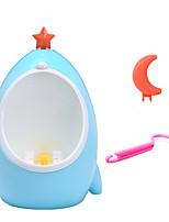 Cute Kids PP Men Toilet Children Bath Caddies