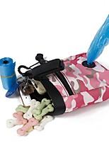 Chat Chien Bols & Bouteilles d'eau Animaux de Compagnie Bols & alimentation Portable Pliable Durable Vert Rose