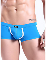 Men's Fashion Sexy Boxer Underwear Cotton Mesh Soft Panties