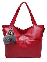 Women Shoulder Bag PU All Seasons Event/Party Rectangular Zipper Ruby Arm Green Dark Gray Black