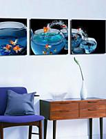 Impression d'Art Nature morte Moderne,Trois Panneaux Format Horizontal Imprimé Décoration murale For Décoration d'intérieur