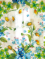 Window Film Window Decals Style Flowers Dull Polish PVC Window Film - (60 x 58)cm
