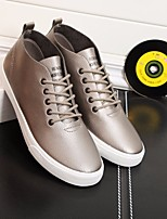 Men's Sneakers Comfort Canvas Tulle Spring Casual Comfort Gray Flat
