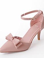 Femme Chaussures à Talons Confort Escarpin Basique Similicuir Eté Mariage Habillé Soirée & Evénement Confort Escarpin BasiqueTalon