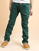 Boys' Solid Color Pants Autumn/Fall