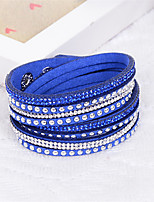 Women's Wrap Bracelet Fashion Mixed Materials Line Jewelry For Wedding Birthday Party/Evening Party/ Evening Dailywear Stage
