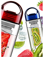 Fruit Infusing Infuser Shaker Water Bottle Cup Lemon Strawberry Juice Leak-Proof Tumbler Bottle Cup 700ML